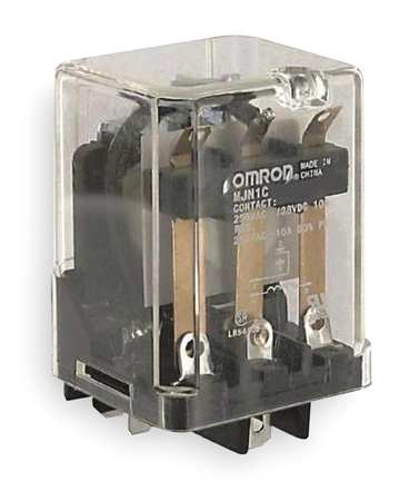 Plug In Relay, 5 Pins, Square, 120VAC