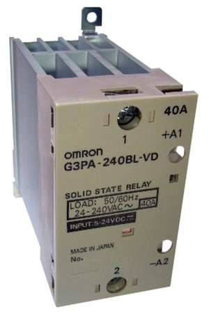 Solid State Relay, 5 to 24VDC, 40A