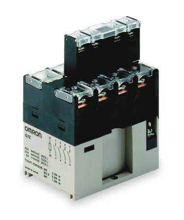 Enclosed Power Relay, 14Pin, 12VDC, 4PST-NO