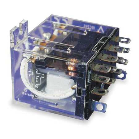 Relay, 14Pin, 4PDT, 5A, 24VAC