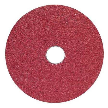 Fiber Disc, 5x7/8, 80G, PK25