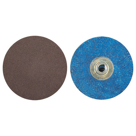 Quick Change Disc, AlO, 3in, 120G, TS, PK50