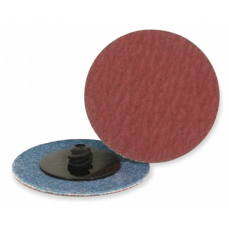 Quick Change Disc, AlO, 3in, 100G, TR, PK25