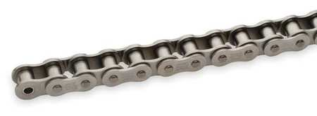 Roller Chain, Riveted, 25SS ANSI, 10 ft.