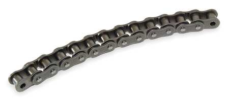 Roller Chain, Curved, 35CU ANSI, 10 ft.