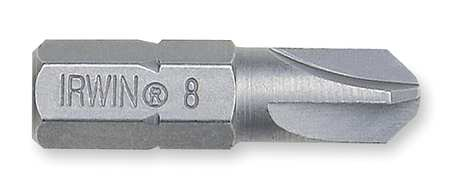 "Torsion Bit, SAE, 1/4"", Hex, #6, 1"", S2 Steel"