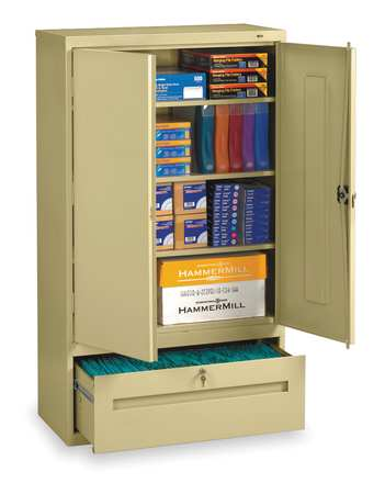 "Lateral File Cabinet,  Height 66"" Width 36"" Sand"