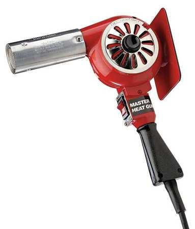 Heat Gun, 500 to 750F, 7A, 23 cfm