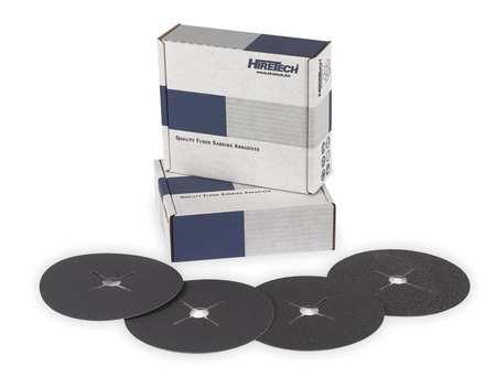 Abrasive Disc, Paper Back 24 Grit, PK25