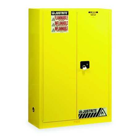 High Quality Flammable Safety Cabinet, 45 Gal., Yellow Ideas