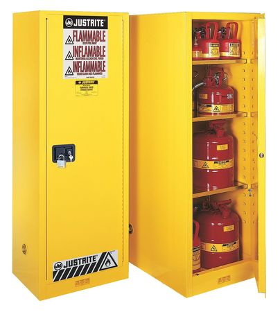 Ordinaire Flammable Safety Cabinet, 22 Gal., Yellow