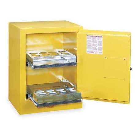 Aerosols Aerosols Cabinet, 4 Gal., Yellow