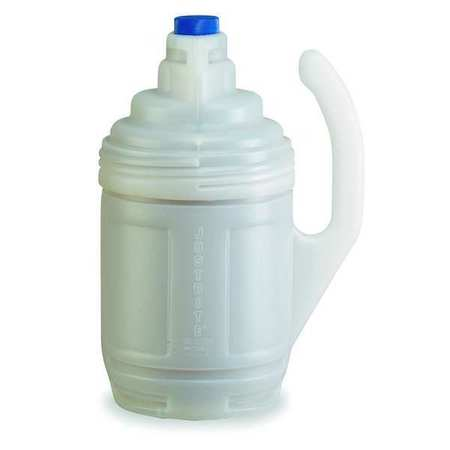 Bottle Jacket, 1 Gal., Clear, Polyethylene