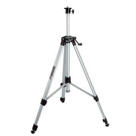 Adj Elevating Tripod, Aluminum, 23-65 In