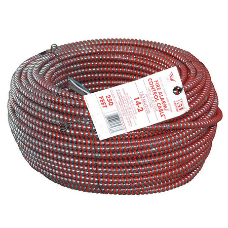 14 AWG 2 Conductor Armored Cable 15A 250 ft. RD