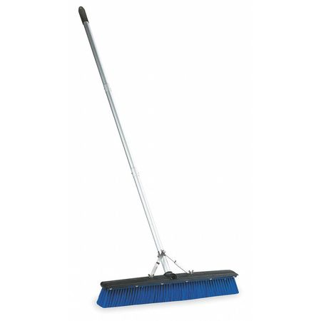TOUGH GUY Plastic General Purpose Push Broom