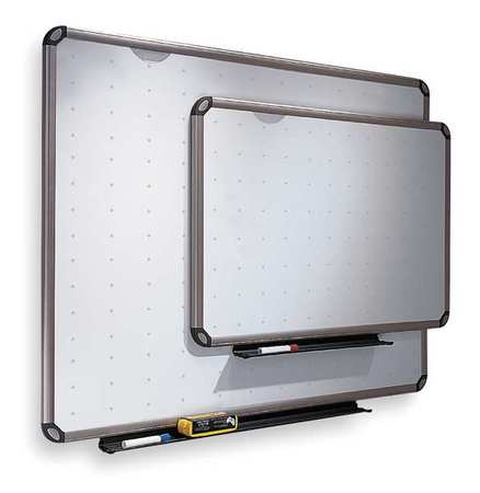 "36"" x 48"" Non-Magnetic Melamine Dry Erase Board,  Wall Mounted"