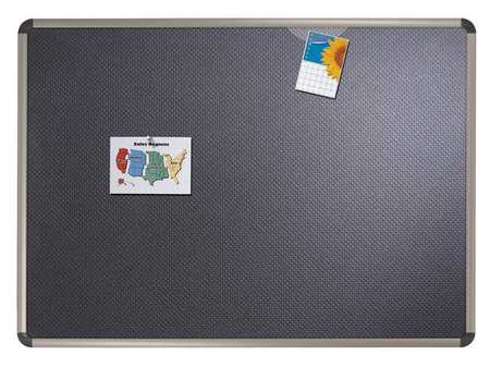 "Foam Bulletin Board 24"",  Black"