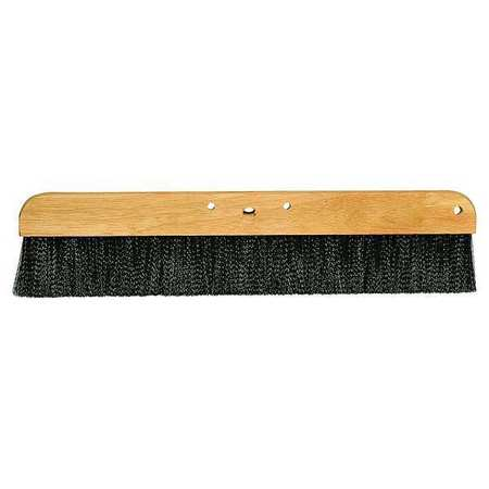 Cement Finishing Brush, Black, 24 In