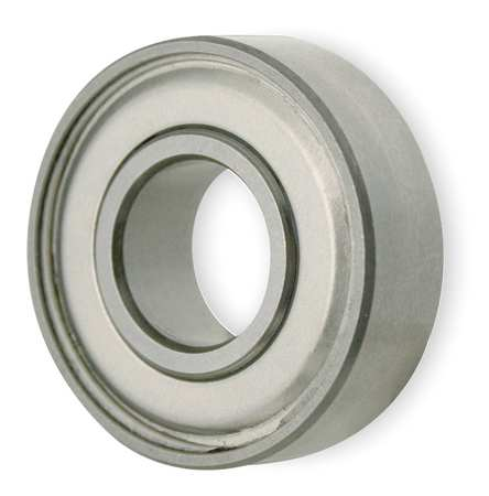 Mini Ball Bearing, Shielded, Bore 0.1875In