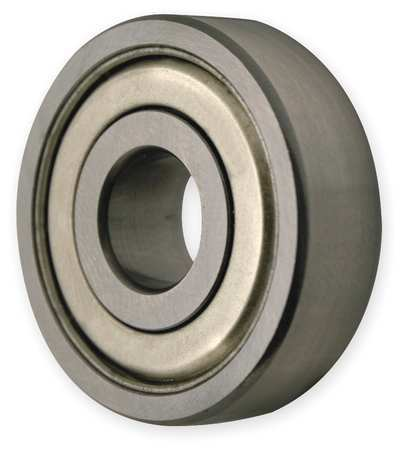 Radial Bearing, Double Shield, 25mm Bore