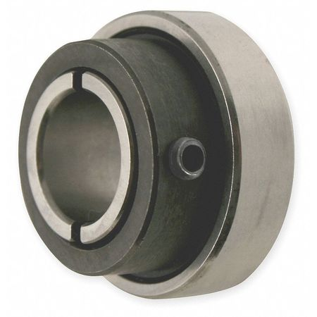Collar Bearing, Clamp Type, Bore 0.3125 In