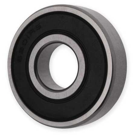 Radial Bearing, Double Seal, 17mm Bore
