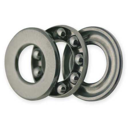 Thrust Bearing, Grooved, Bore Dia 5.0mm