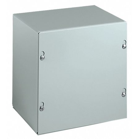 Junc Box Encl, Mtllc, 10In.Hx10In.Wx6In.D