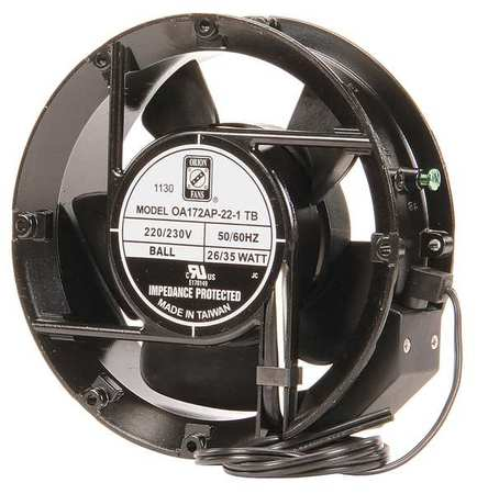 "6-7/9"" Round Axial Fan,  230VAC"