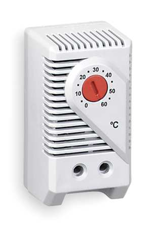 Line Voltage Mechanical Thermostat,  Provides Air Temperature Control in Large Enclosures
