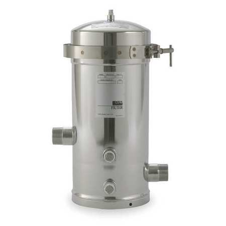 Filter Housing, Stainless Steel, 32 GPM