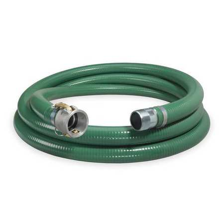 "3"" ID x 20 ft PVC Discharge & Suction Hose GN"