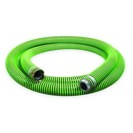 "1-1/2"" ID x 25 ft Discharge & Suction Hose BK/GN"