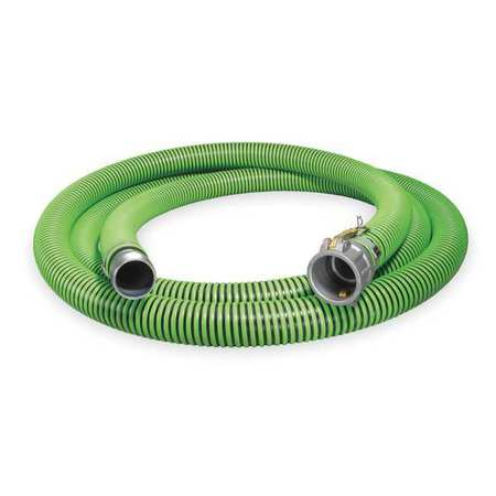 "2"" ID x 20 ft Discharge & Suction Hose BK/GN"