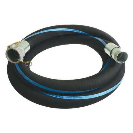 "4"" ID x 20 ft Rubber Discharge & Suction Hose BK"