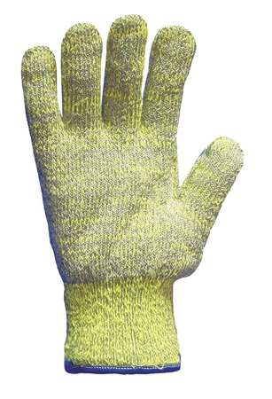 Cut Resistant Gloves, Orange/Gray, XL, PR