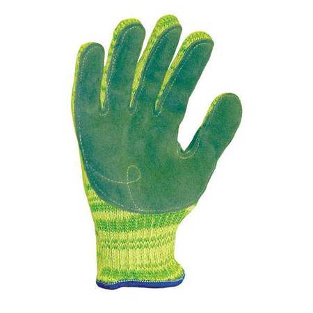 Cut Resistant Gloves, Yellow/Green, XL, PR