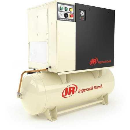 Rotry Scrw Air Cmpresr w/Air Dryer, 10 HP