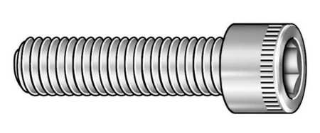 "3/8""-24 x 3/4"" Black Oxide Alloy Steel Socket Head Cap Screw,  100 pk."
