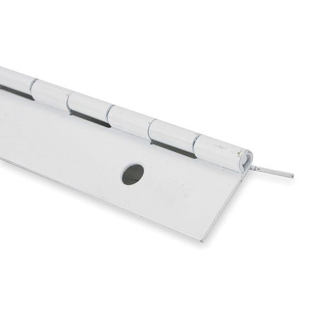 Piano Hinge, Painted, 6 ft. L, 1-1/2 In. W