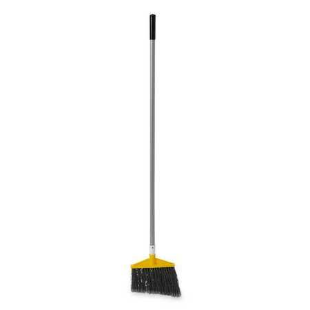 "RUBBERMAID Gray 10-1/2"" Polypropylene Angle Broom"