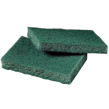 "Scouring Pad, Green, 4-1/2"" L, 3"" W, PK80"