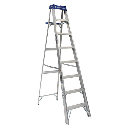 8' Aluminum 250 lb. Stepladder,  Type I