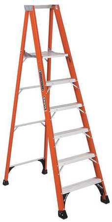 "Platform Stepladder,  5 ft. 8"",  FGL,  375 lb."
