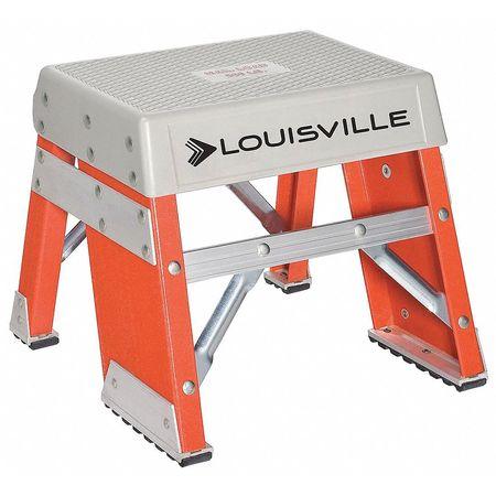 Step Stand, 12 In H, 300 lb., Fiberglass