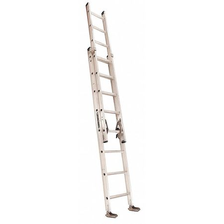 Extension Ladder, Aluminum, 16 ft., IA