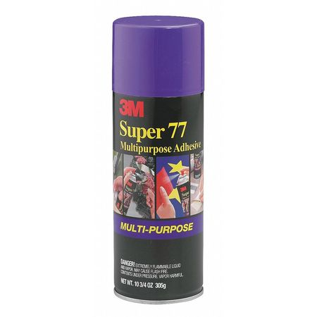 Adhesive, Spray, 10 oz., Net 7.33 oz.