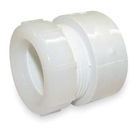 "1-1/2"" Hub x Socket PVC DWV Female Trap Adapter"
