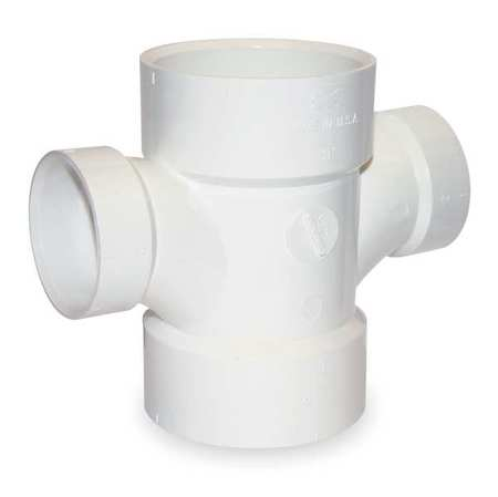 "2"" x 2"" x 1-1/2"" x 1-1/2"" Hub PVC Double Reducing Tee"